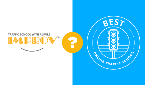 Improv Traffic School vs Best Online Traffic School