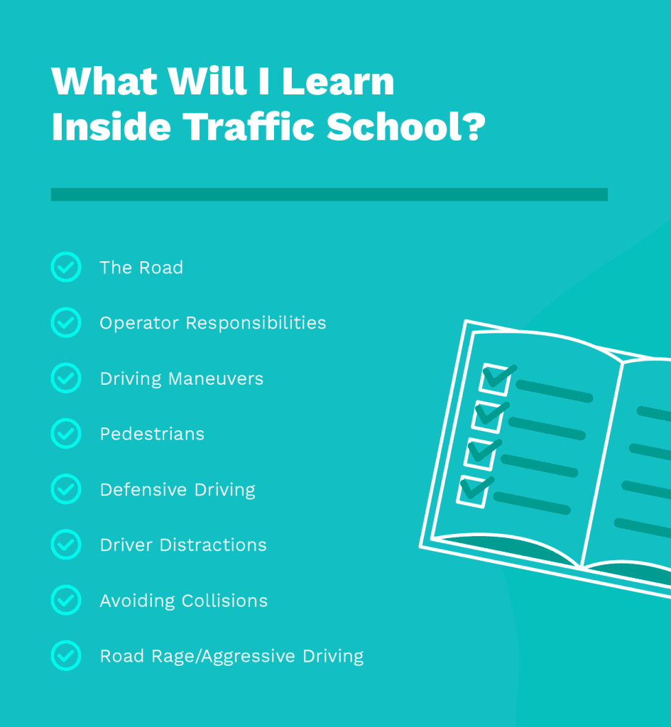 What Will I Learn Inside Traffic School?